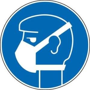 Schutzkleidung für die Bedienung eines Dickenhobels