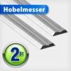 Hobelmesser 82 mm HSS Hobelmesserblätter Wendemesser Ersatzmesser für Elektrohobel Messer -